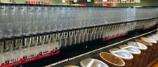 (48) Gravity Dispensers+Fed Bulk Bin Food+ (6) Display Cabinets'Trade Fixtures