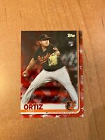2019 Topps Series 2 - Luis Ortiz - #678 Independence Day Parallel #d 20/76