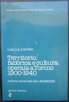 TERRITORIO, FABBRICA E CULTURA OPERAIA A TORINO 1900-1940 storia quartiere