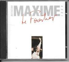 CD ALBUM LIVE 17 TITRES--MAXIME LE FORESTIER--LIVE AU BATACLAN 1989