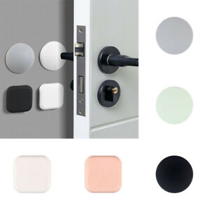Crash Pad Wall Sticker Silicone Door Stopper Anti-Collision Pads Wall Protector