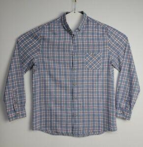 Brunswick Men's Long Sleeve Classic Fit Check Shirt Size L