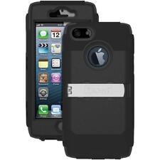 NEW Trident KRAKEN AMS Military Grade Black Case with Holster for iPhone SE 5S 5