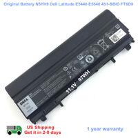 97Wh Genuine N5YH9 Battery for Dell Latitude E5540 E5440 Latitude 14 5000 VV0NF