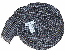 PAUL SMITH LIGHTWEIGHT MULTICOLORED CHECK SCARF BNWT VERY RARE made in Italy
