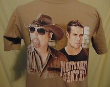 Montgomery Gentry Country Music Mens M Rebels On The Run Concert Tour T-Shirt
