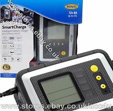 Anillo rsc608 12v 8a coche van Inteligente Smart Batería Cargador Y Analizador Tester