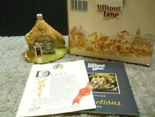 Lilliput Lane Two Hoots English Collection S. E. #699 Nib & Deeds 1994 Signed