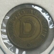 Hazleton Pennsylvania PA Diamond Bus Line Transportation Token