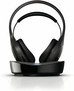Philips SHD8600/30 Digital Wireless Rechargeable Stereo Headphones with Dock