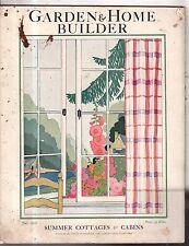 1928 Garden & Home Builder July- Homes in Joplin MO, Haverford PA, Birmingham AL