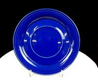 "NANCY CALHOUN SOLID COLOR SAPPHIRE BLUE 8"" UNDER PLATE FOR GRAVY BOAT 1987-2002"