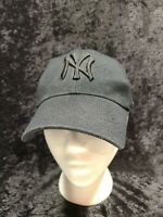"EUC Nike New York NY Yankees ""Blackout"" Adjustable (Black/Black) Mens Cap"
