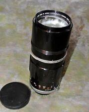 CLEAN TESTED CANON 200MM F/3.5 FL LENS FD AE-1 TX FTB T90 T80 TLB F-1 T60 T50 F1