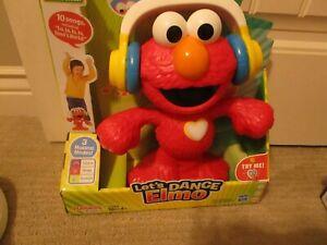 "Playskool Sesame Street Let's Dance Elmo 12"" Toy that Sings & Dances 3 Modes New"