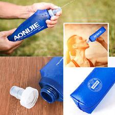 aonijie 170/250/500 ml suave flask TPU Apretar Deportes Al Aire Libre Correr