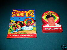 1991 Topps Stand Ups TEST ISSUE - ROGER CLEMENS Red Sox