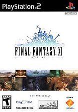 Final Fantasy XI Online HDD (Sony Playstation 2)(PS2) no hd