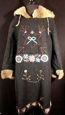 MUSEUM QUALITY RARE NATIVE AMERICAN 1922 ST. PAUL SLED DOG DERBY COAT