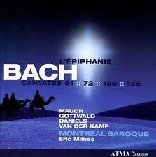 NEW Bach: L'Epiphanie (Audio CD)