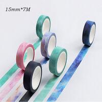 Washi Sticky Tape Masking Adhesive Paper Scrapbook DIY Tape