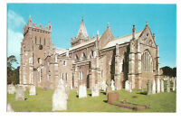Postcard The Church of St Mary Ottery Devon south east view  (B4k)