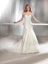 Pronovias Designer - White One - Fabula design - Stunning ivory tulle and lace