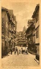 Germany AK Hann. Munden Münden - Untere Langestrasse 1922 sepia postcard