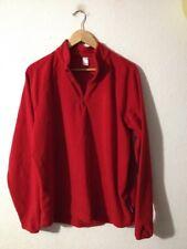 MEN'S Polyester Polaire Pull par DECATHLON taille XL rouge < R16904