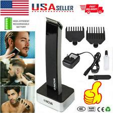 PRO Rechargeable Electric Hair Clipper Shaver Beard Razor Trimmer Shaving Kit