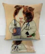 Set x2 New Decorative Home Bedding Decor Zip Up Dr.Hamster Cover