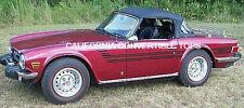1969-76 Triumph TR6 Convertible Top - MADE IN CALIFORNIA