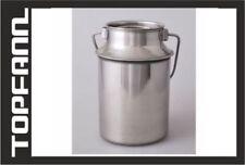6 L Milchkanne aus rostfreiem Edelstahl 6 Liter  MILCHKANNE GROß 6L