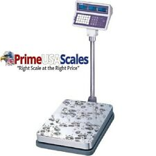 CAS EB-150 EB Series Price Computing Bench Scale, 60kg Capacity, 0.02kg.