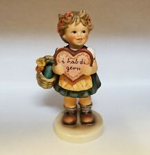 """Hummel figurine """"Valentine Gift"""" used, in excellent condition"""