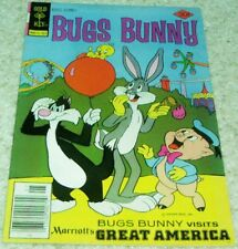 Bugs Bunny 186, (Vf- 7.5) 1977 Balloon cover! 50% off Guide!