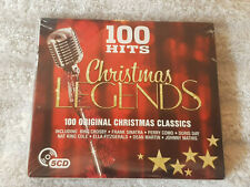 CD Album Various 100 Hits - Christmas Legends New & Sealed