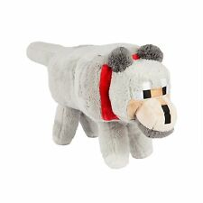 "Minecraft 15"" Wolf Plush with Hang Tag Stuffed Animal Gamer Toy New with Tags"