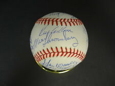 1962 New York Mets Reunion Multi-Signed Baseball Autograph Auto PSA/DNA Y04664