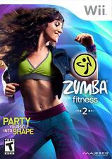 Zumba Fitness 2 WII New Nintendo Wii