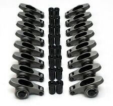 Sbc 350 400 Small Block Chevy Stainless Steel Roller Rocker Arms 16 Ratio 716