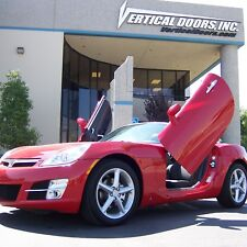 Lambo Doors Saturn Sky 07-10 Bolt-on Door Conversion kit Vertical Doors Inc USA