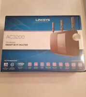 NEW Linksys Wireless AC3200 Tri-Band Smart Wi-Fi Router- Retail ~$299
