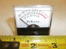 Dukane Audio Analog Vu Meter Model 485 1504
