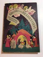 "SNOW OVER BETHLEHEM by Katherine Milhous 1st ""A"" Edition Scribner's 1945"