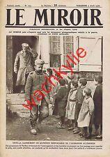 Le miroir n°123 du 02/04/1916 Verdun Lac Tanganyka