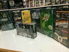 NRL TRADING CARD FACTORY BOX UNIT of 7 BOXES  (2006-2012 + 2018- ONE EACH)