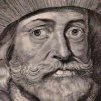 Portrait XVIIIe Jean II D'Avesnes Jean Ier de Hainaut Count Of Holland