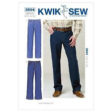 KWIK SEW SEWING PATTERN MEN'S JEANS SIZE S - XXL K3504