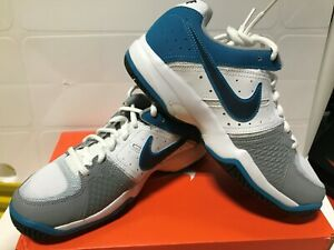 Nike Youth Air Cage Court Tennis Shoes Style #549890 101